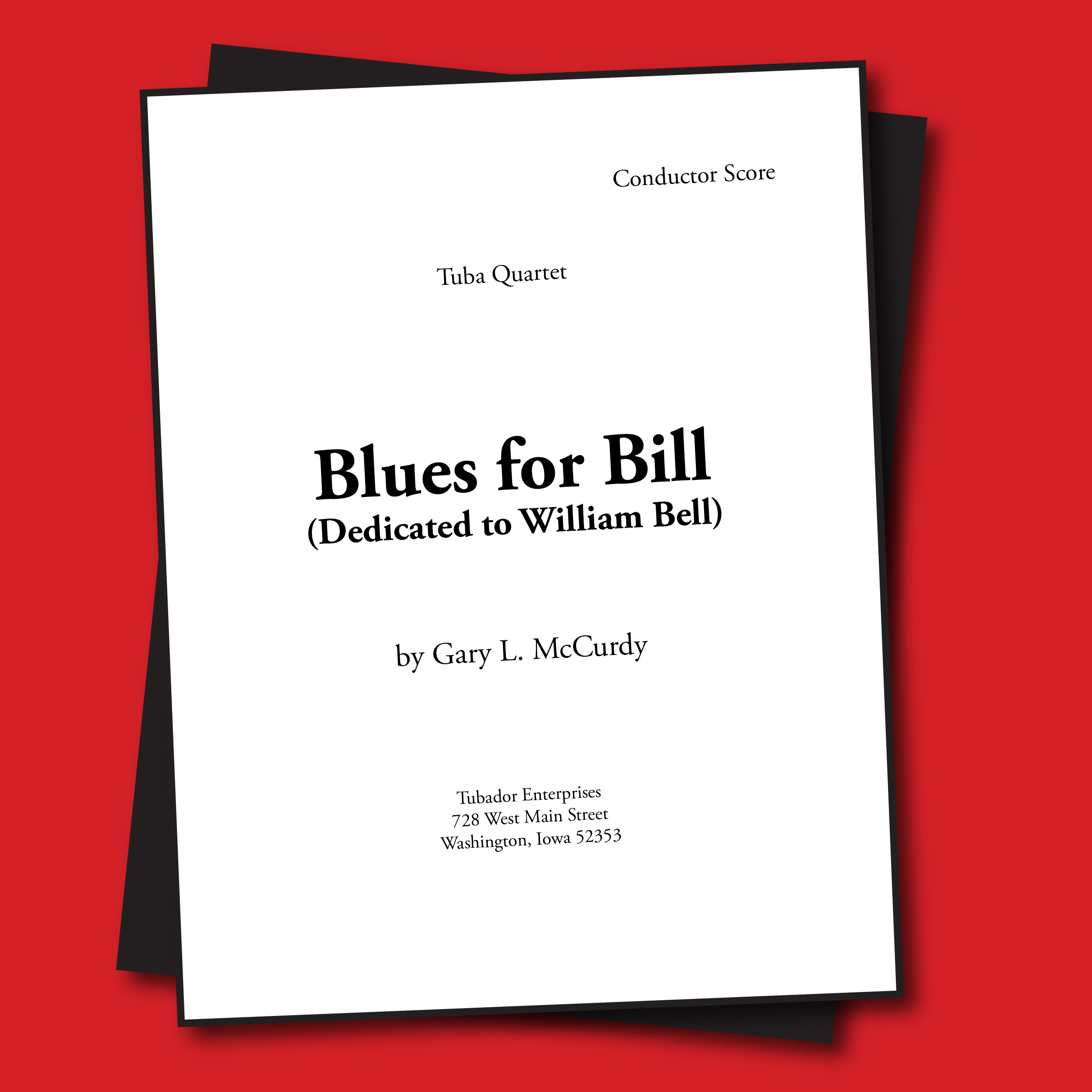 Blues For Bill Sheet Music - Quartet