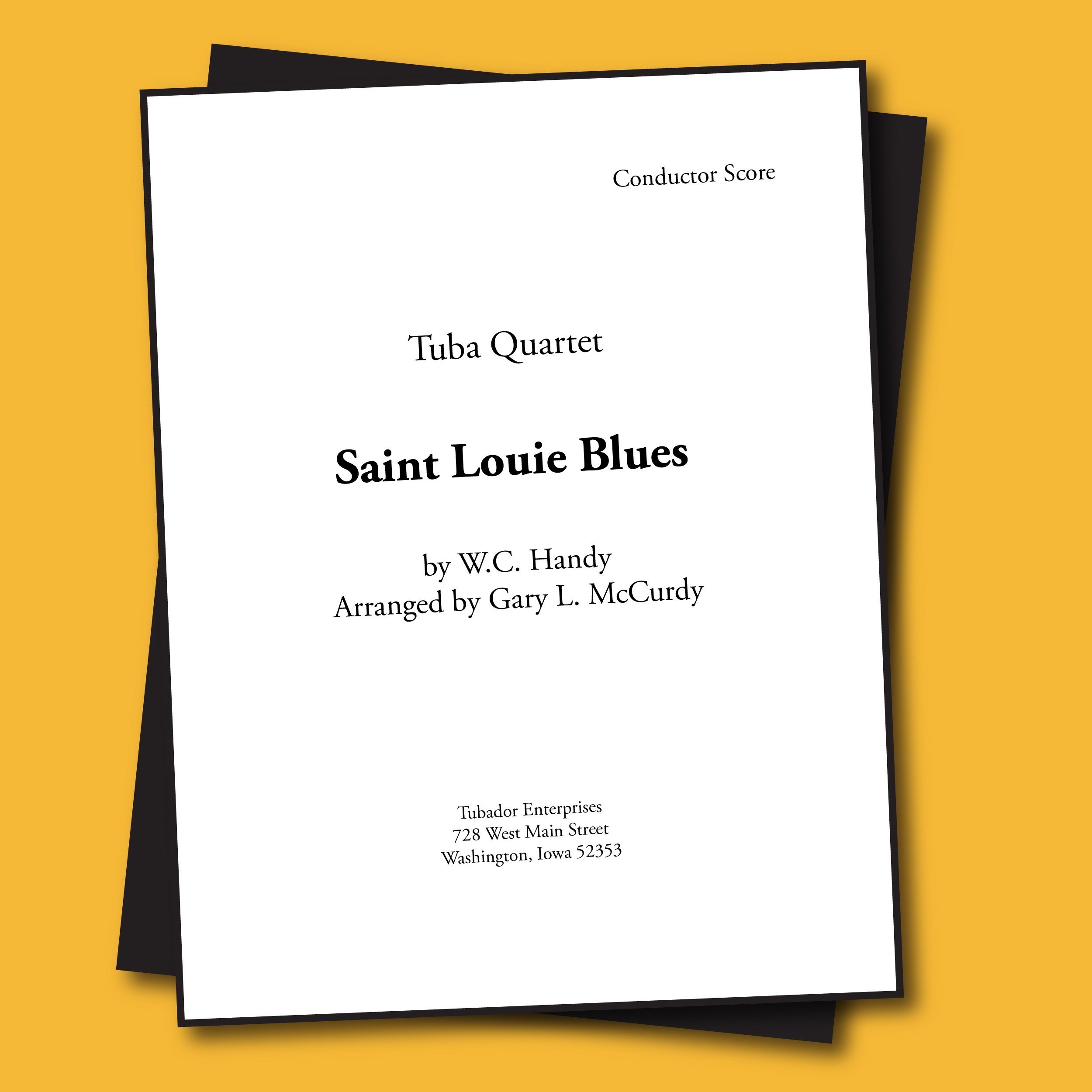 Saint Louis Blues Sheet Music - Quartet