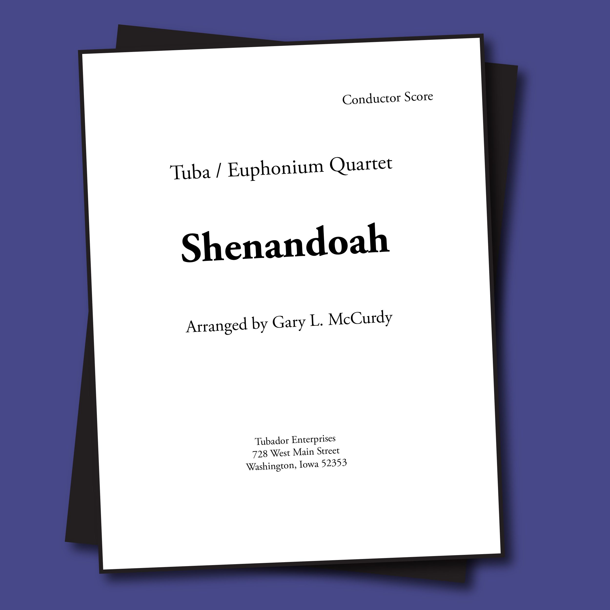 Shenandoah Sheet Music - Quartet