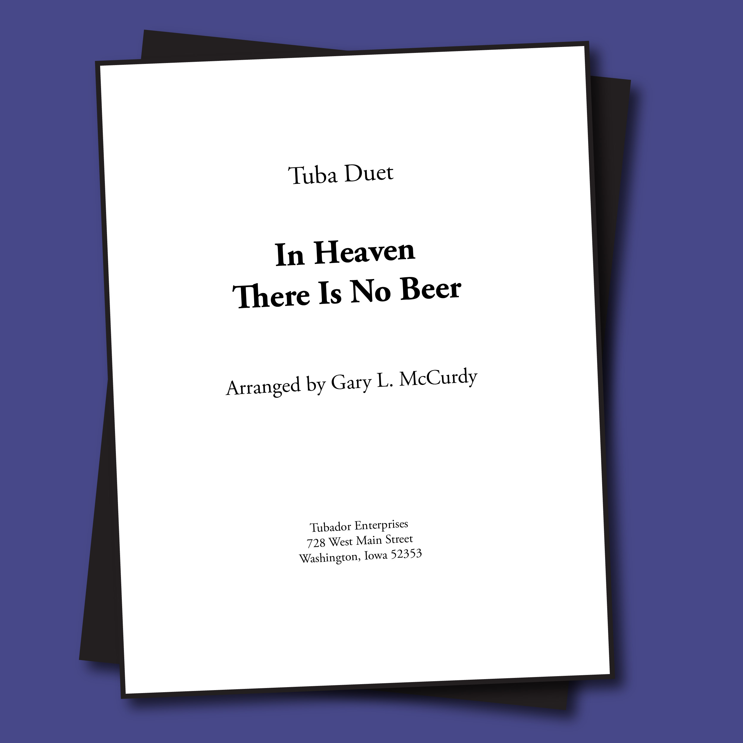 In Heaven There Is No Beer Sheet Music - Duet