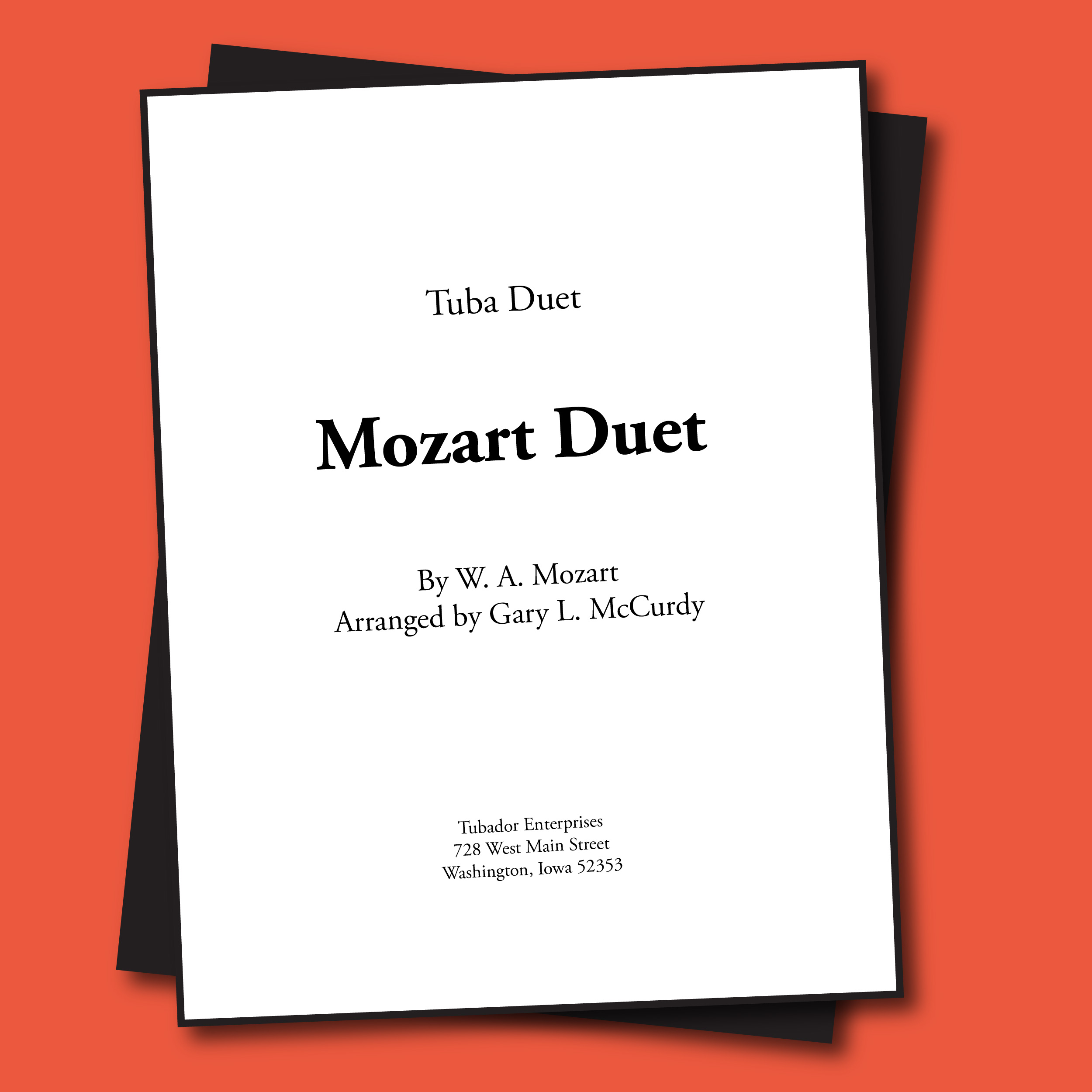 Mozart Duet Sheet Music - Duet