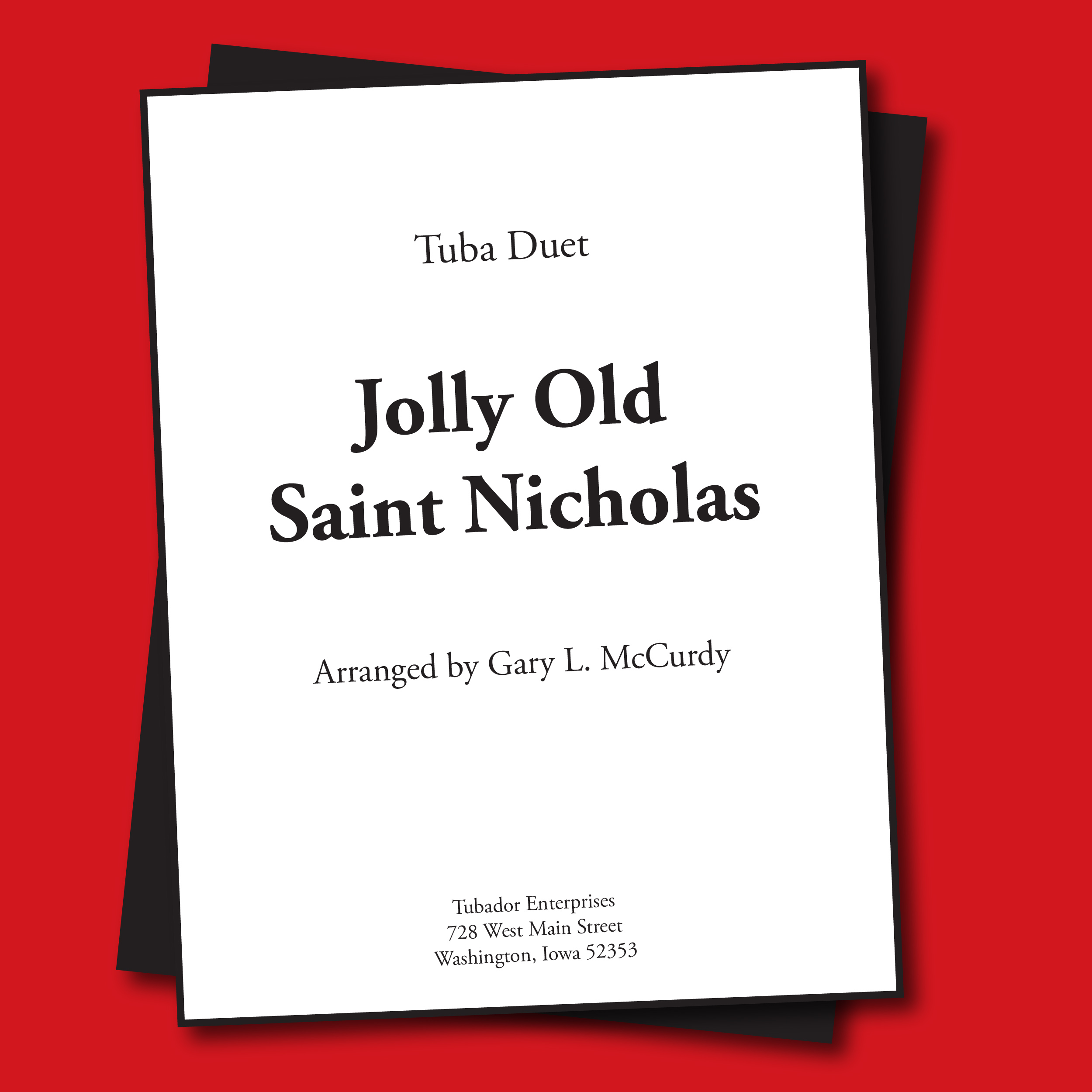Jolly Old Saint Nicholas Sheet Music - Duet