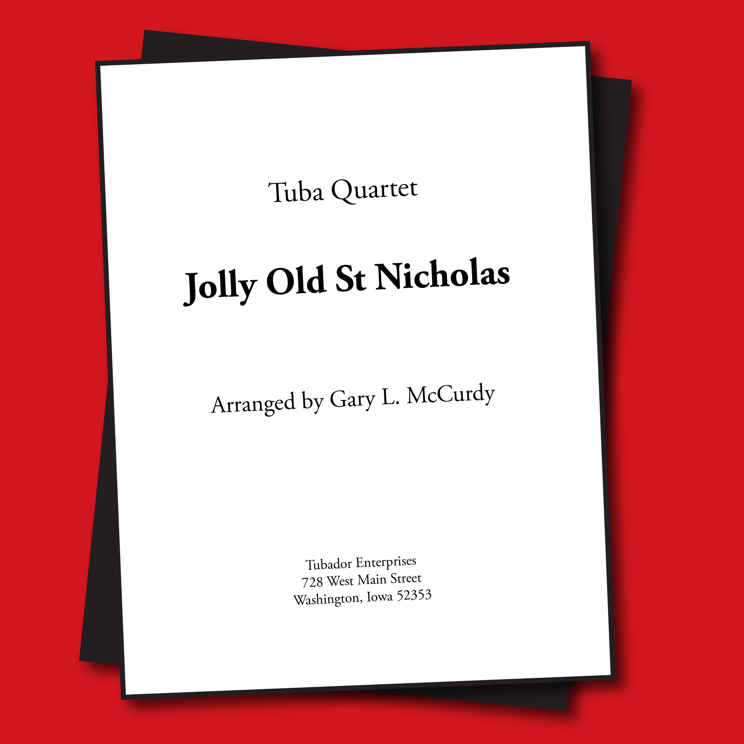 Jolly Old Saint Nick Sheet Music - Quartet
