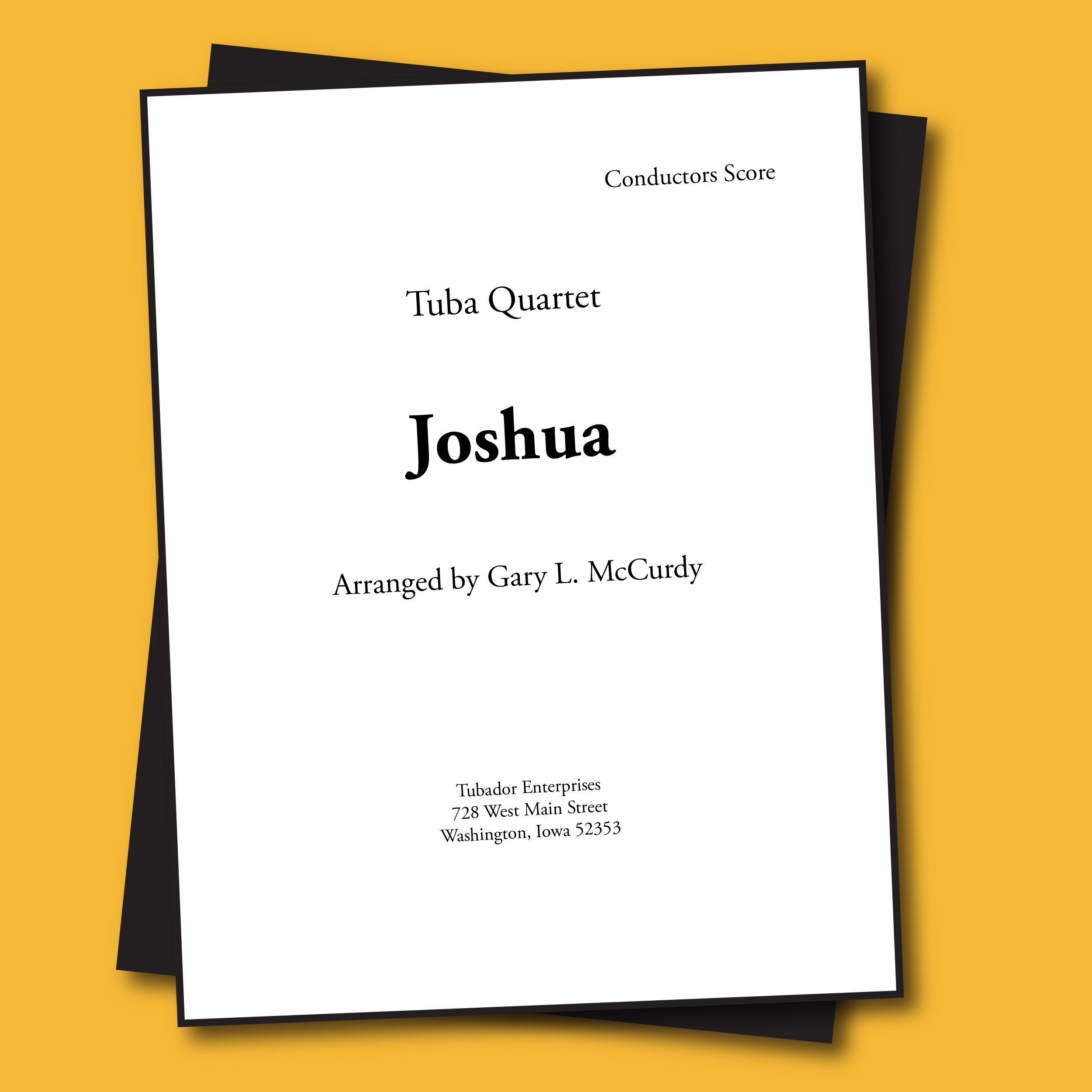 Joshua Sheet Music - Quartet