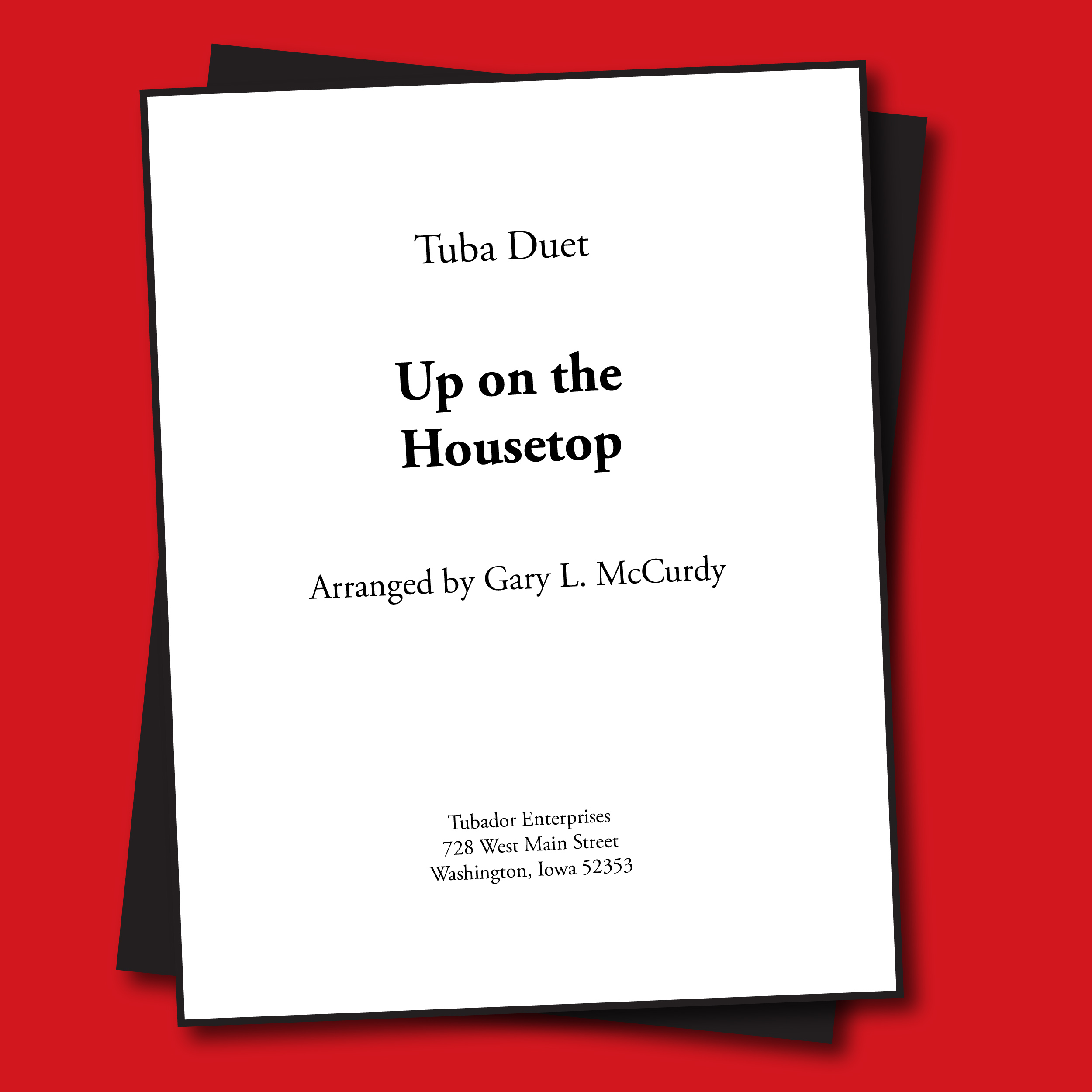 Up On the Housetop Sheet Music - Duet