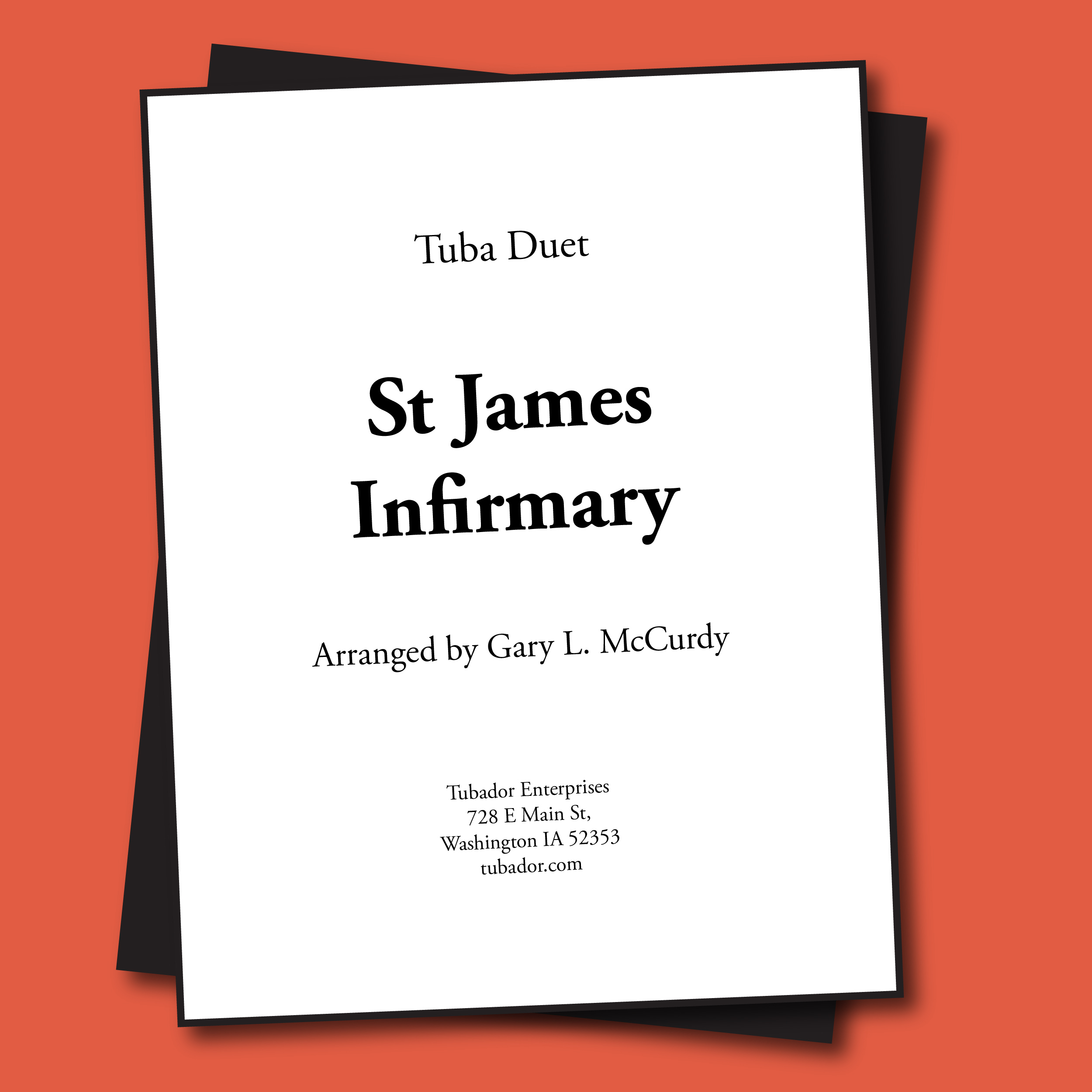Saint James Infirmary Sheet Music - Duet