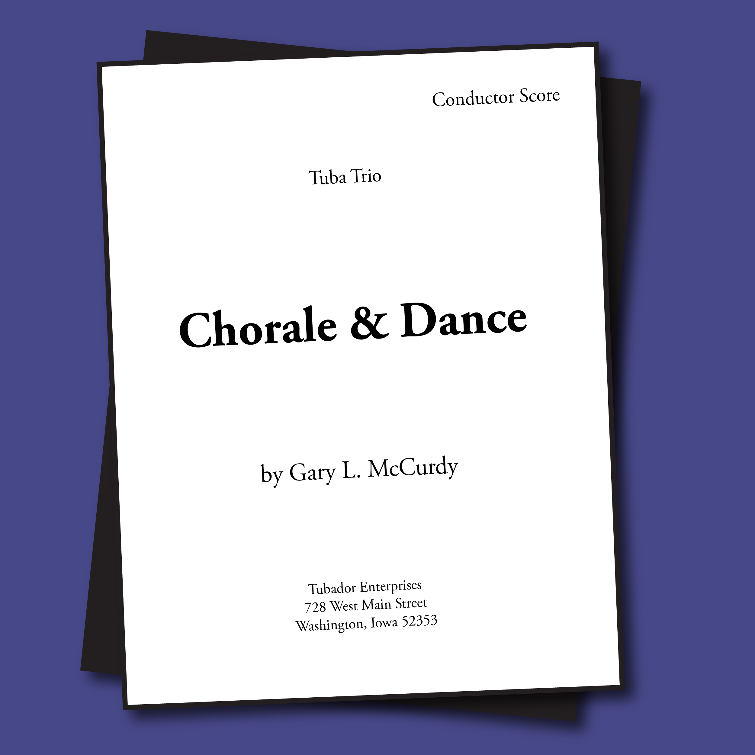 Chorale and Dance Sheet Music - Trio