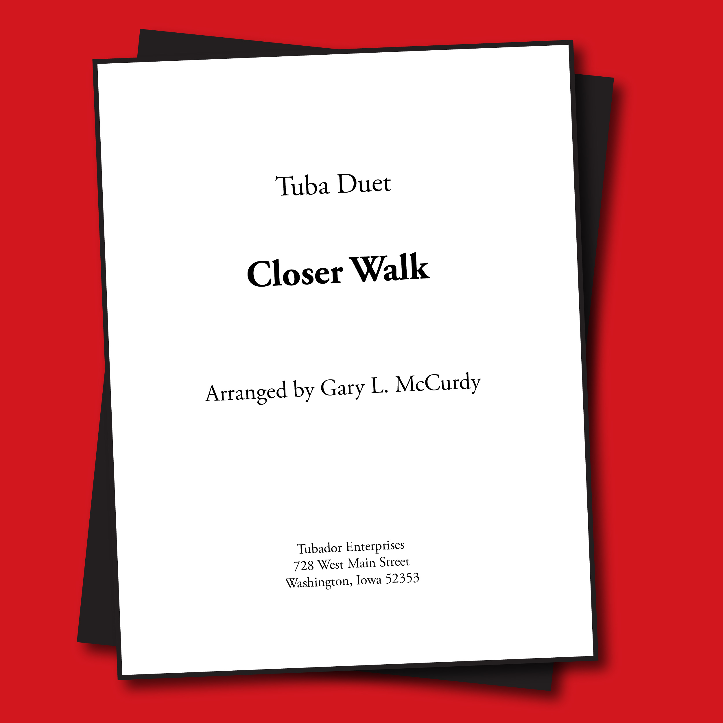 Closer Walk Sheet Music - Quartet