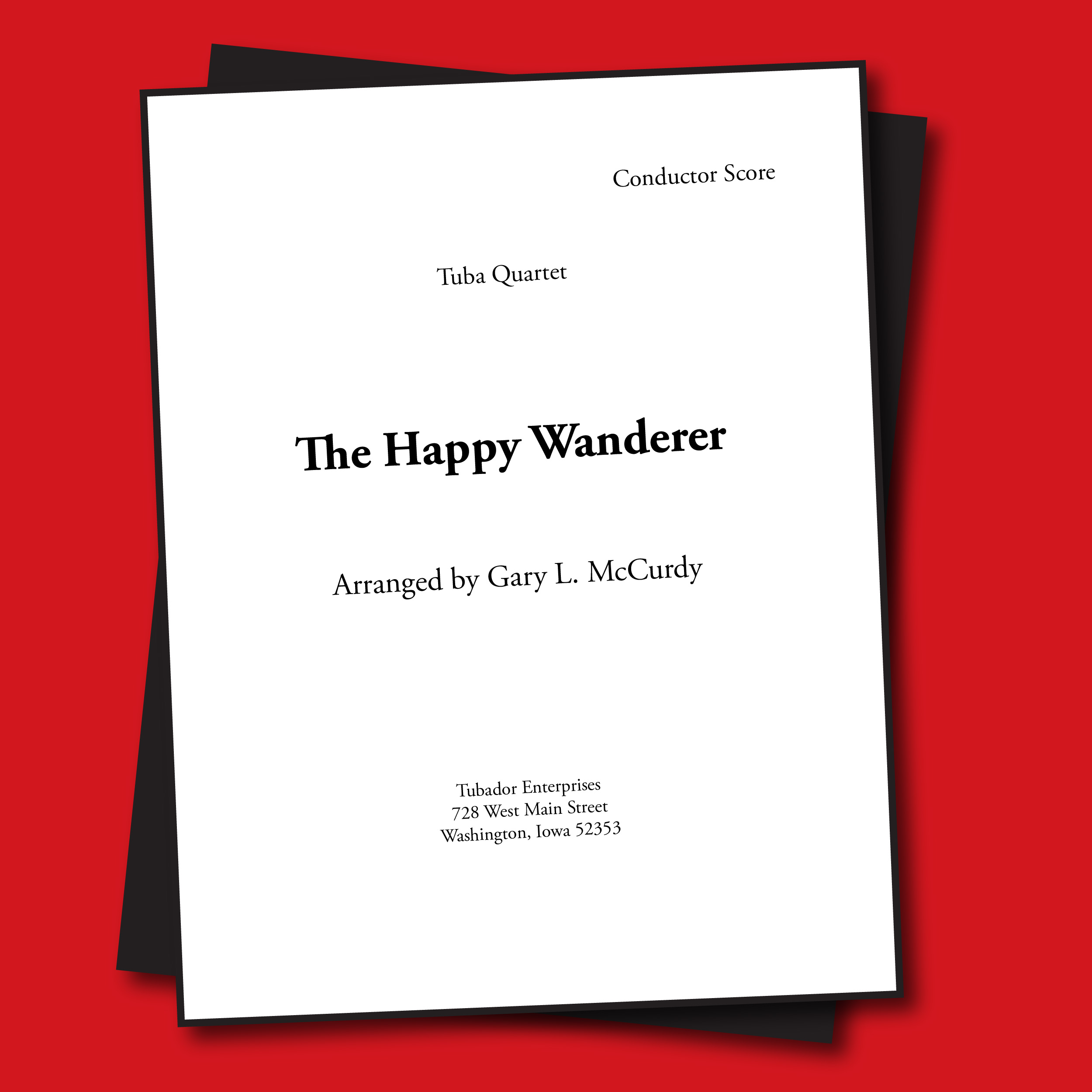 Happy Wanderer Sheet Music - Quartet