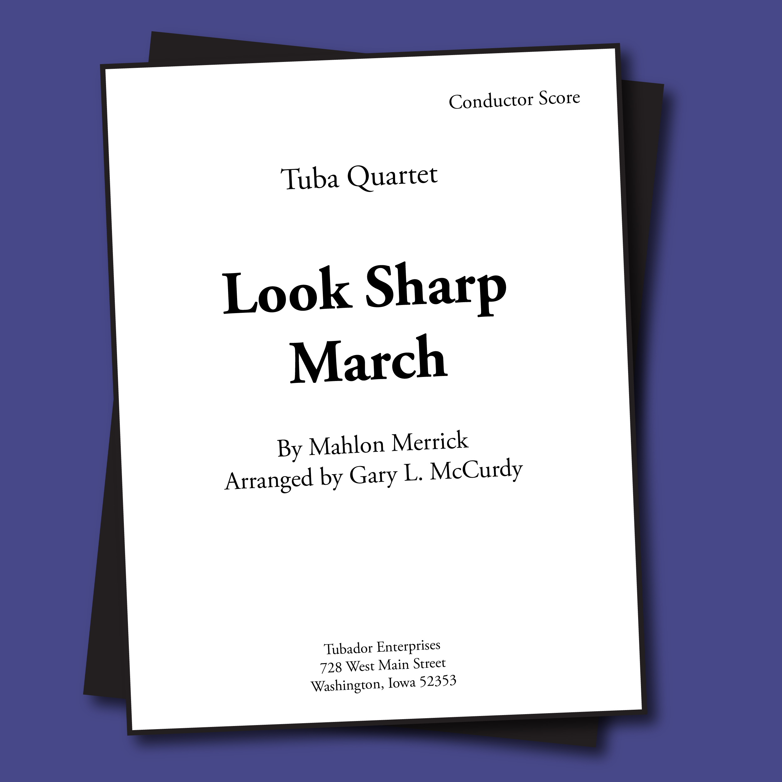 Look Sharp March Sheet Music - Quartet
