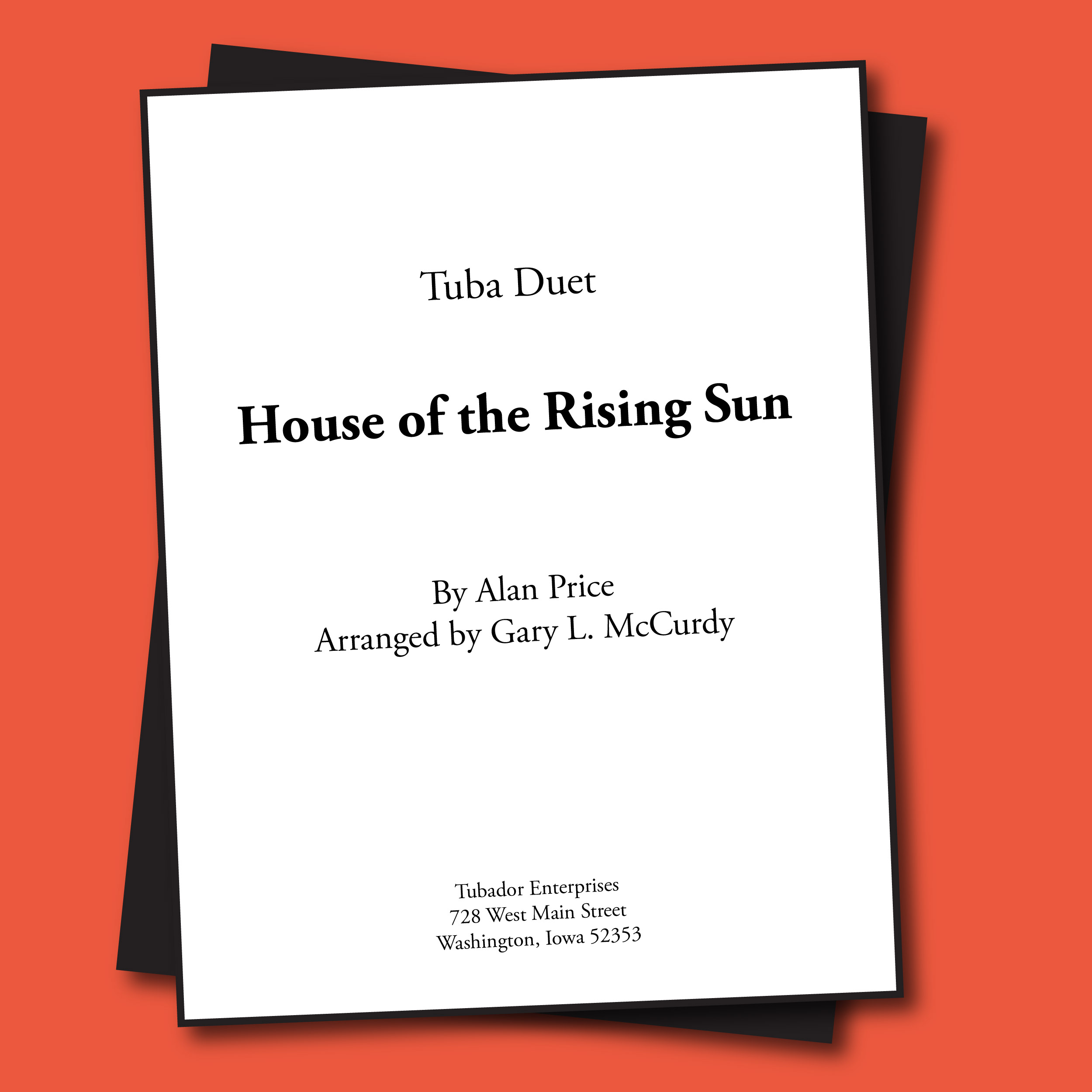 House of the Rising Sun Sheet Music - Duet