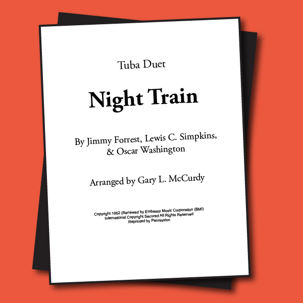 Night Train Sheet Music - Duet [TBD47]